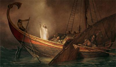Are You In His Boat?