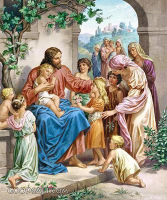 And Jesus called a little child unto him, and set him in the midst of them. (Matthew 18:2)
