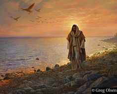 Jesus shows them that they must work hard and face many difficulties.