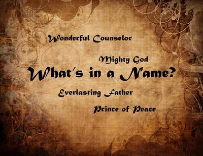 To Whom Do You Proclaim ?