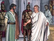 Pilate wanted nothing to do with the trial of Jesus, because He considered it as a purely Jewish problem, and he told the Jewish authorities to judge Jesus by their own law.
