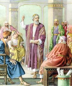 Paul said with a loud voice, Stand upright on thy feet. And he leaped and walked.