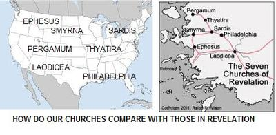Where, on the map, is your church ?